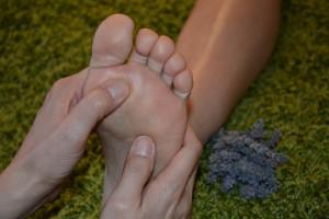 Fußreflex